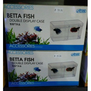 Betta Fish Double Display Case Ista