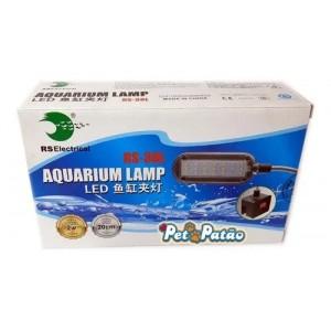 Luminaria Led Com Clip Rs-38l 2w 20cm À 40cm Bivolt