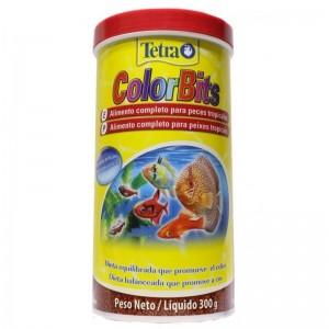 Alimento completo para Peixe Tetra Peixe ColorBits 300g