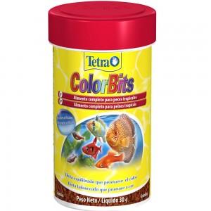 Alimento completo para Peixe Tetra Peixe ColorBits 30g