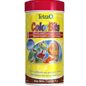 Alimento completo para Peixe Tetra Peixe ColorBits 75g