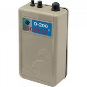 Compressor Boyu de ar a pilha D-200