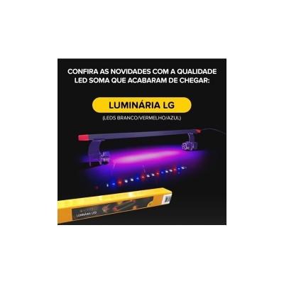 Luminária Led Soma LG-300 30cm 7W Para Aquário