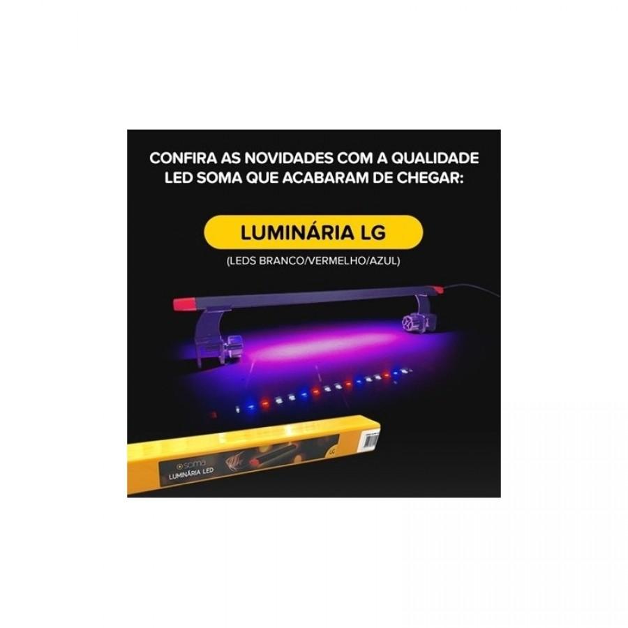 Luminária Led Soma LG-600 60cm 11,5W Para Aquário