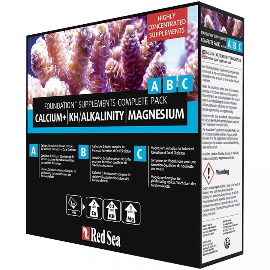 Suplemento Completo  Red Sea CALCIUM+ KH/ALKALINITY MAGNESIUM (ABC)