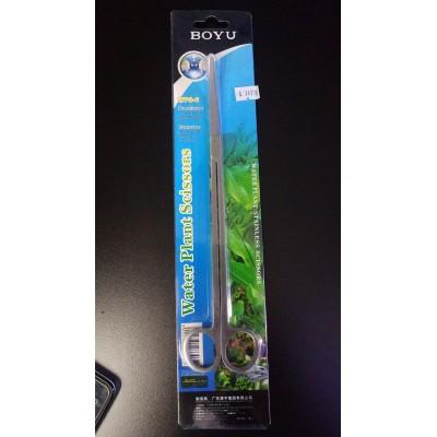 Tesoura Reta 25cm Inox Boyu - Water Plant- Wps-2