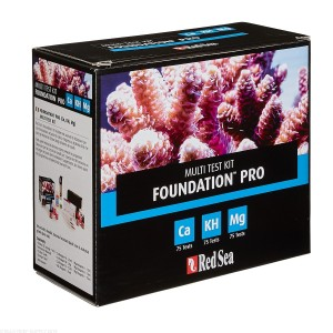 Teste Red Sea Kit Reef Foundation Pro (CA/ALK/MG)