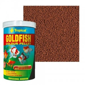 Ração Tropical Goldfish Colour Pellet 45g