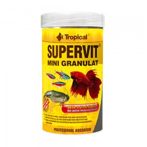 Ração Tropical Supervit Mini Granulat 44g